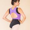 crop top leotard lilac mix ds1985 dancewear