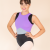 crop top leotard lilac mix ds1985 dancewear