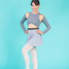 culotte grey ds1985 dancewear
