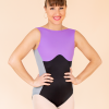 bustier leotard lilac ds1985 dancewear