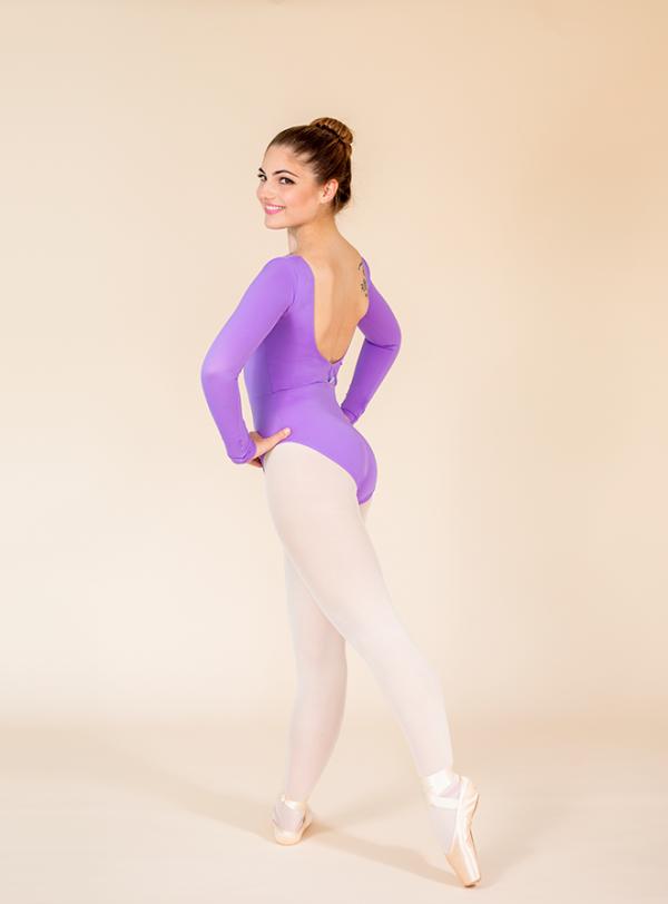 classic leotard lilac ds1985 dancewear