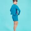 jogger shorts petrol ds1985 dancewear