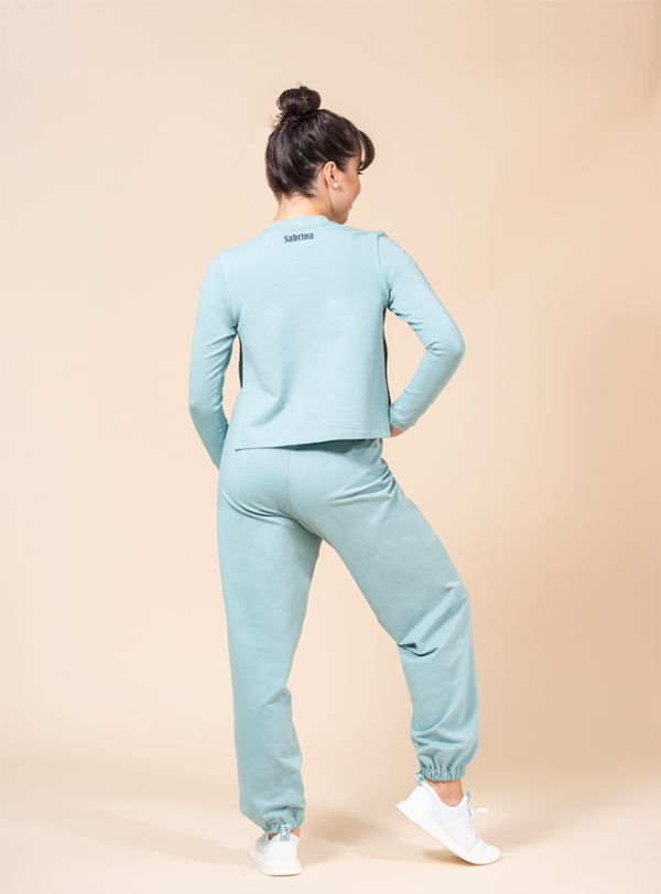 joggers turquoise ds1985 dancewear
