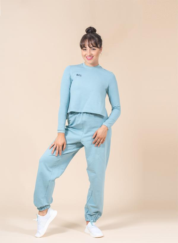 joggers turqouise ds1985 dancewear