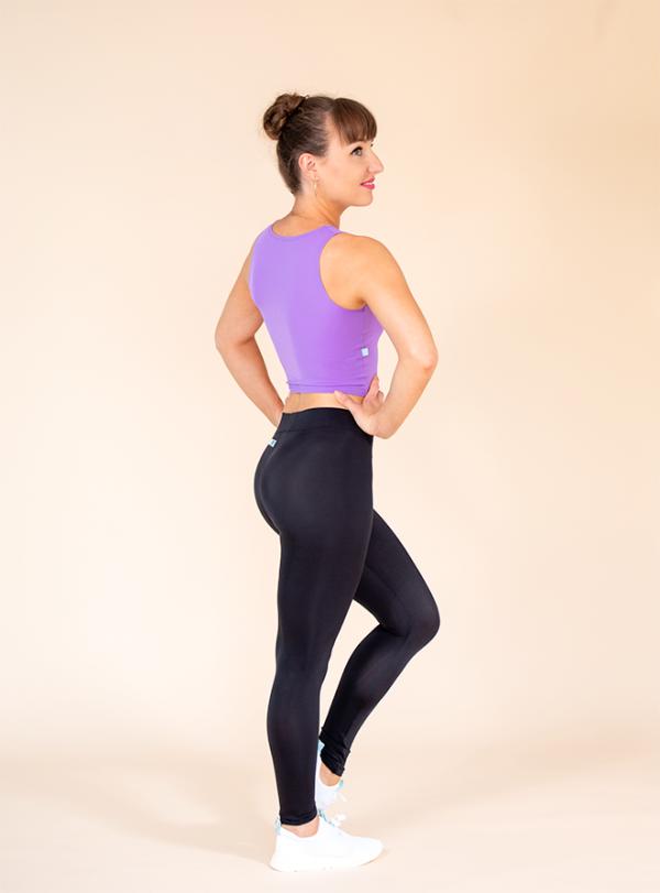 leggings black ds1985 dancewear