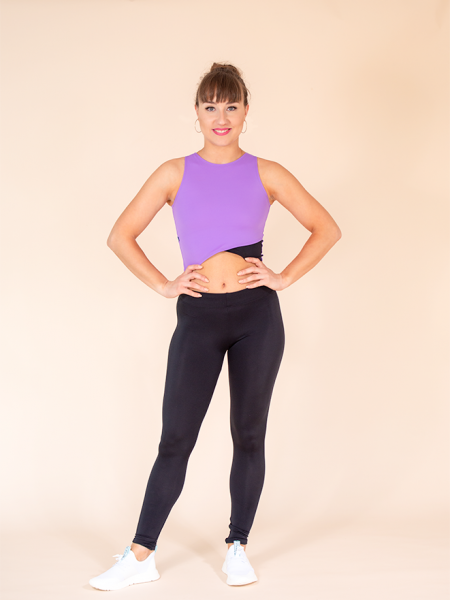 leggings black ds1985 dancewear