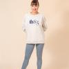 oversize sweatshirt beige ds1985 dancewear