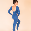 unitard long blue ds1985 dancewear